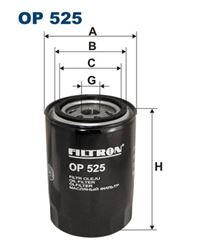 Oil Filter - FILTRON OP 525